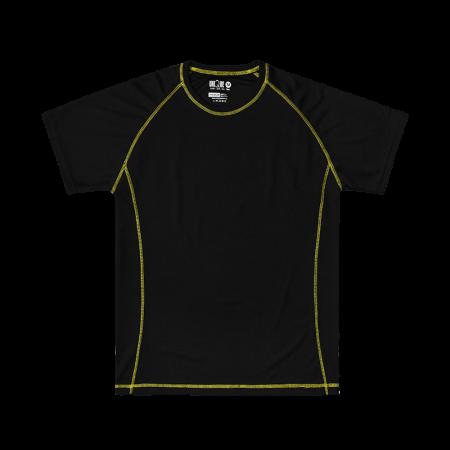 Contrast Stitching Sport Tee Grey