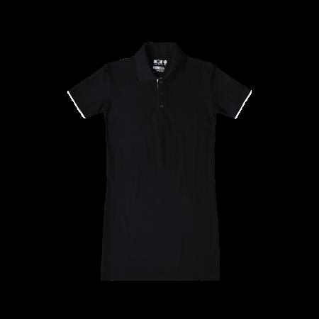 Women Polo Dress - Black