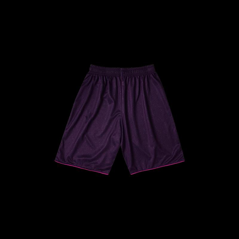 Contrast Piping Sport Tees (Set) - Purple Bottom