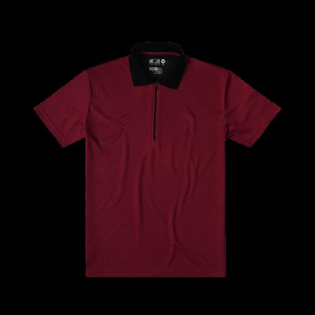 Striped Polo Tshirts - Red